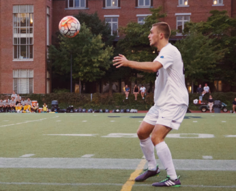 Men's soccer nets all three results