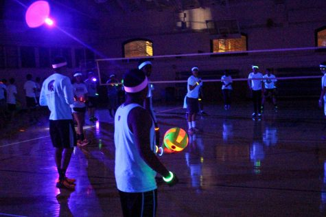 UPB volleyball tournament lights up the night