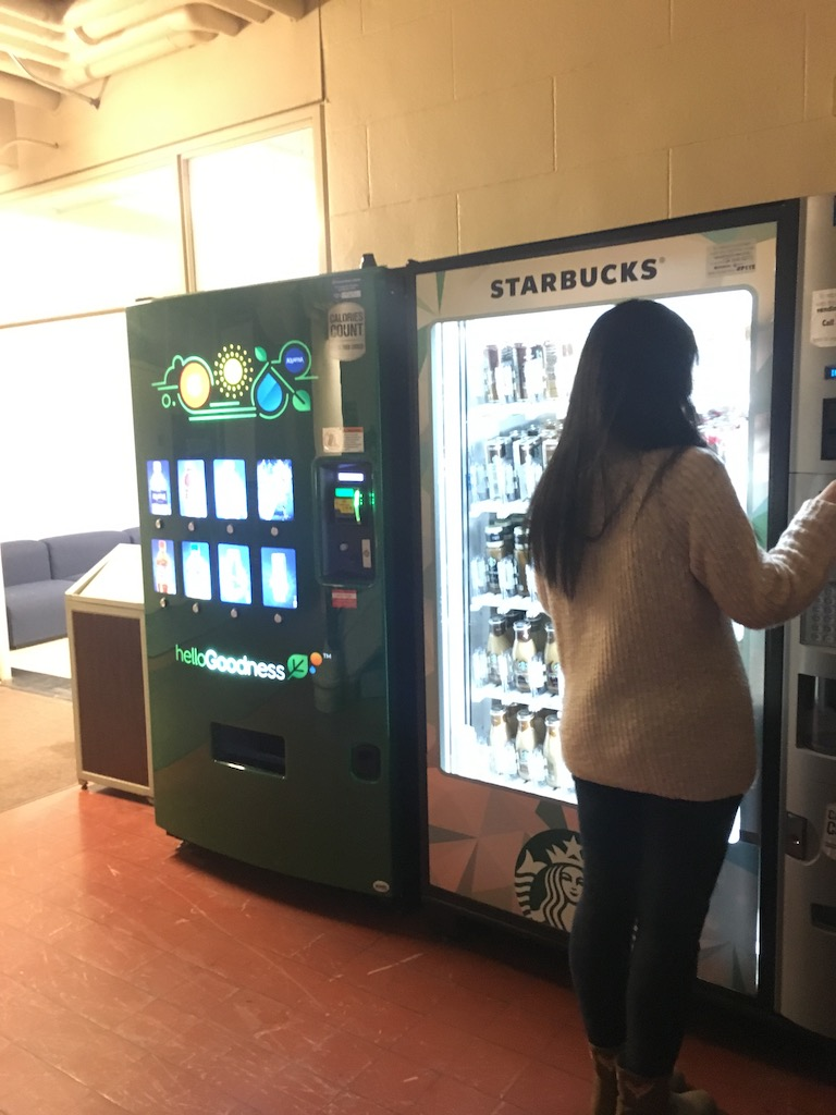 Vending machines were added to the basement of Thwing Center. Since last year, steady changes has been made at Thwing and more is expected in 2017.