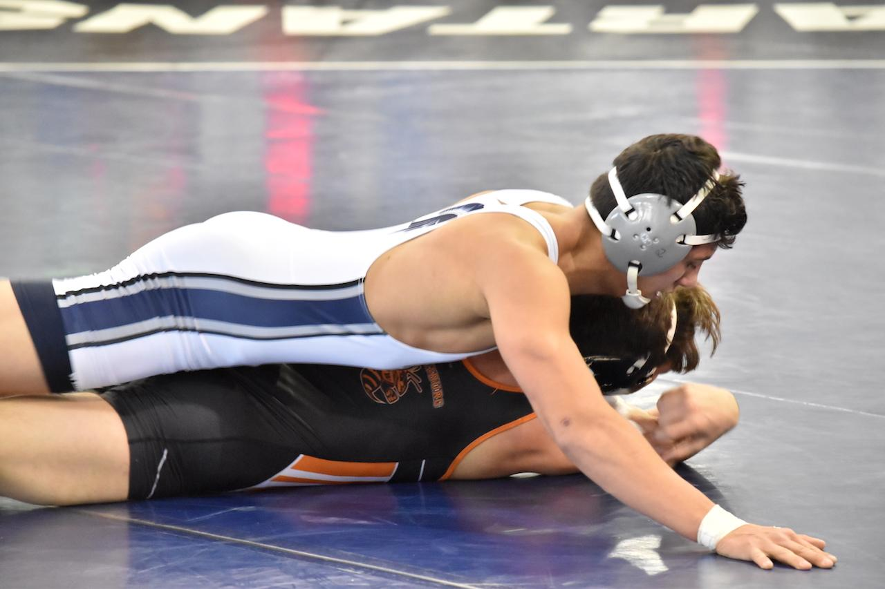 Ending their season with a 18th place finish at the Mideast Regional meet, the wrestling team still secured four victories, including three by pin.