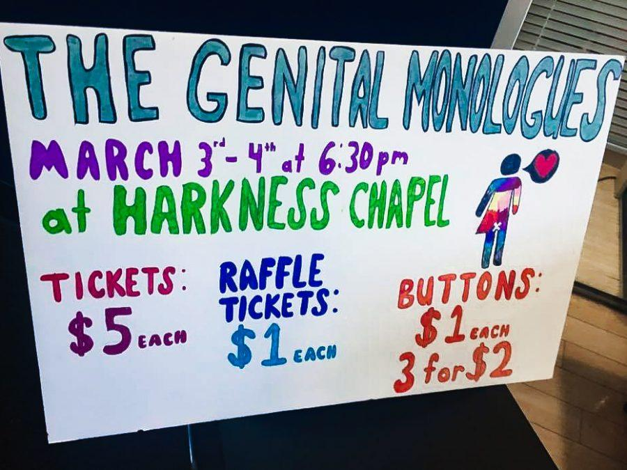 +The+Feminist+Collective+is+hosting+%22The+Genital+Monologues%22+for+the+first+time+to+raise+money+for+the+Cleveland+Rape+Crisis+Center+and+provide+students+a+safe+space+to+talk+about+sexuality+related+topics.