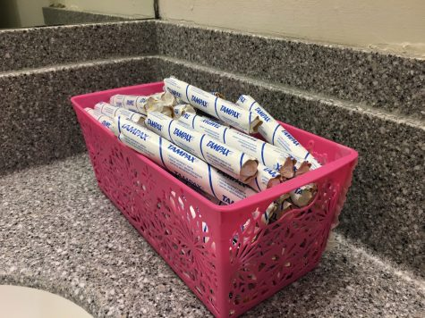 How one student sparked increased menstrual product access