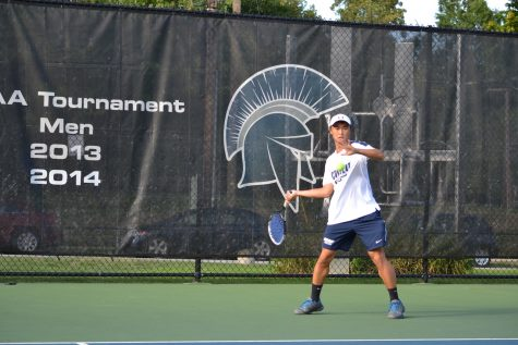 Men's tennis continues fall season