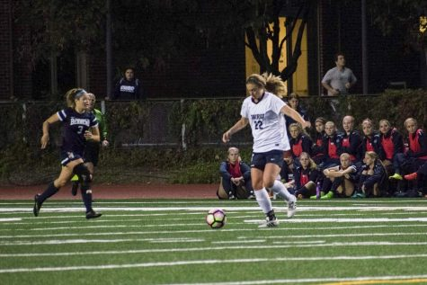 Women's soccer loses twice to top teams