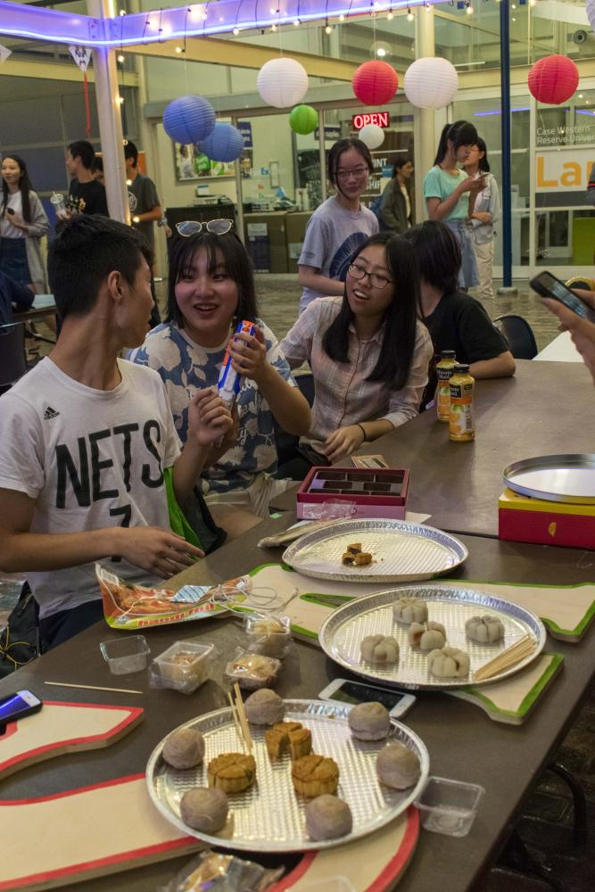 Asian food was heavily featured at the Mid-Autumn Festival, which took place on Oct. 4 at the Thwing Center.