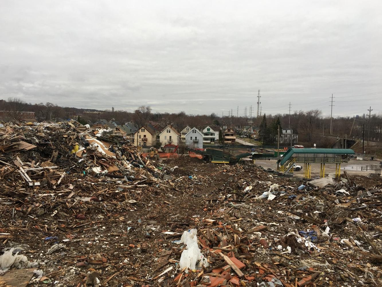 The Noble Road waste dump was supposed to be the location of a recycling facility, but has instead been the site of a contruction waste dump that has negatively impacted the health of Cleveland residents.