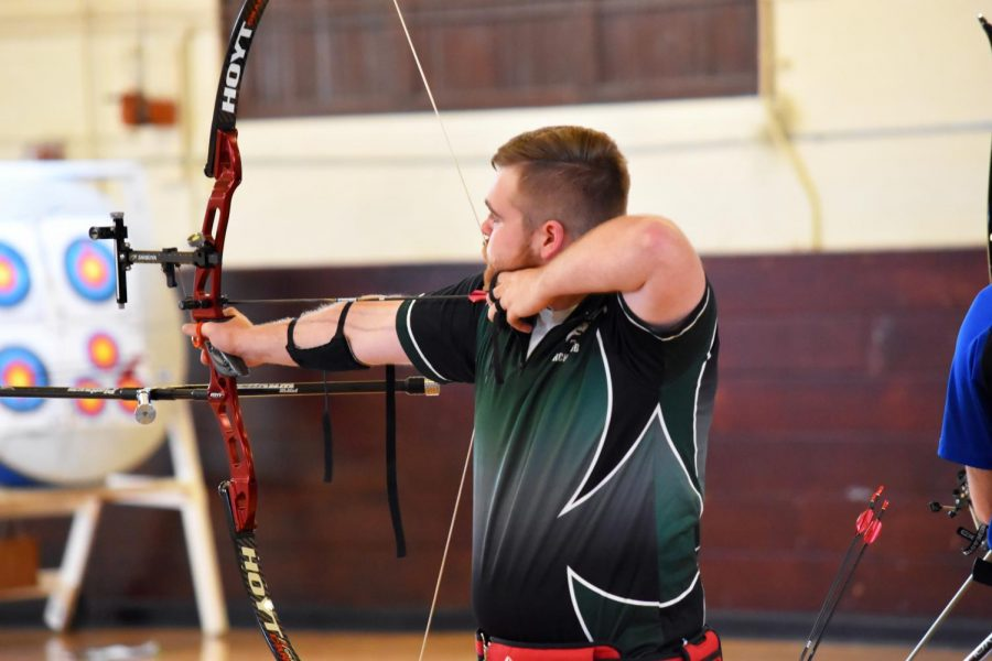 More+than+100+archers+from+across+the+region+competed+in+the+Archery+Club%27s+first+event+of+the+year.