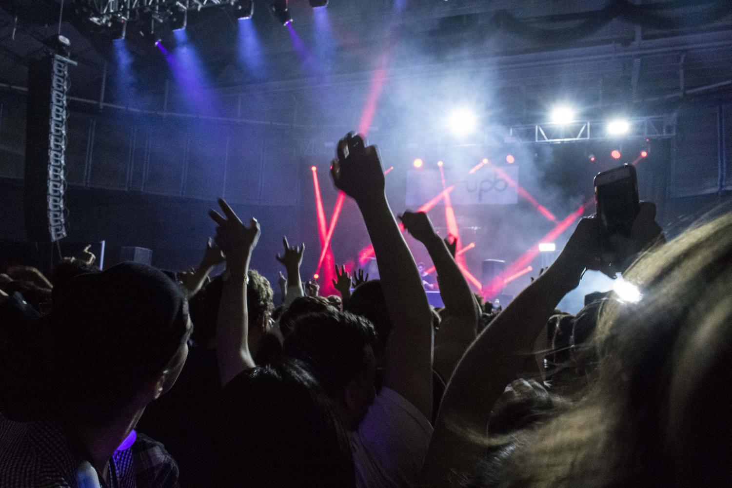 A$AP Ferg and 3Lau performed to a large crowd at UPB's Trick or Trap, this year's Fall Concert.
