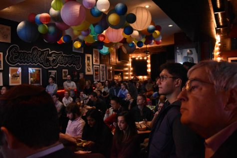 Economics society talks Trump at Happy Dog