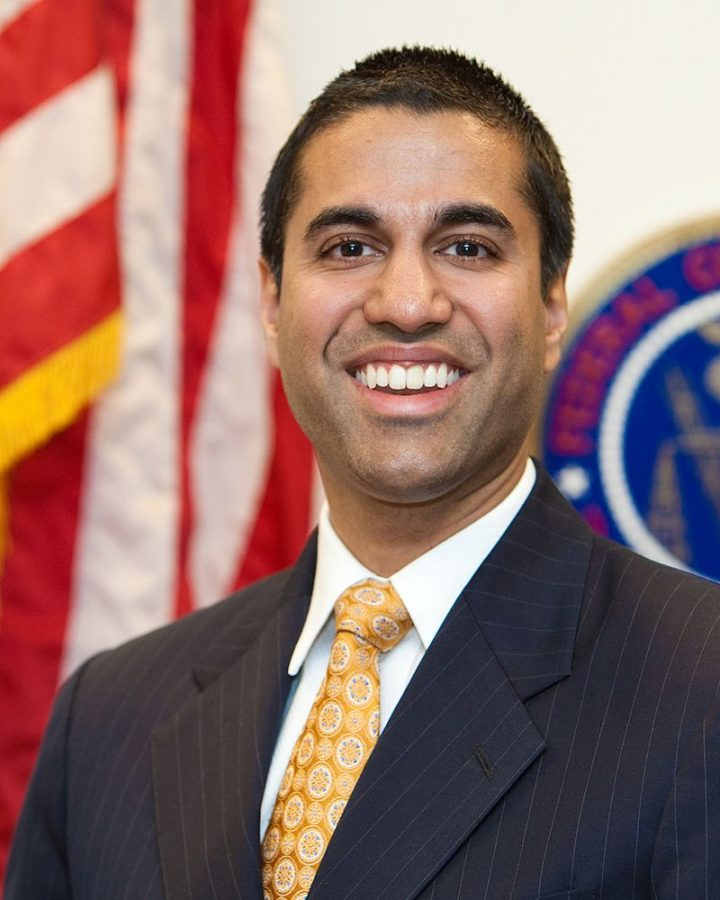 FCC+chairman+Ajit+Pai+currently+leads+the+battle+against+Net+Neutrality.+Pai%27s+deregulation+plan+will+have+many+negative+effects%2C+including+limitations+on+content+and+access+for+Internet+users.