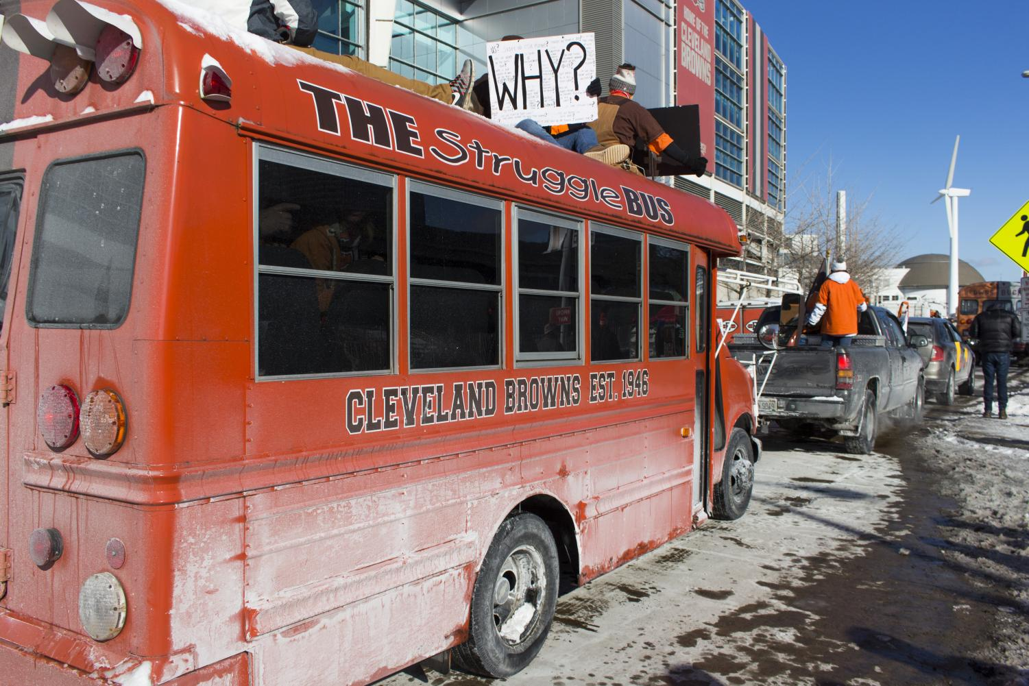 Many Browns fans wonder when the Struggle Bus will ever drop them off.