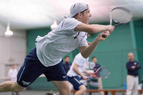 Men's tennis takes sixth at UAA Championship