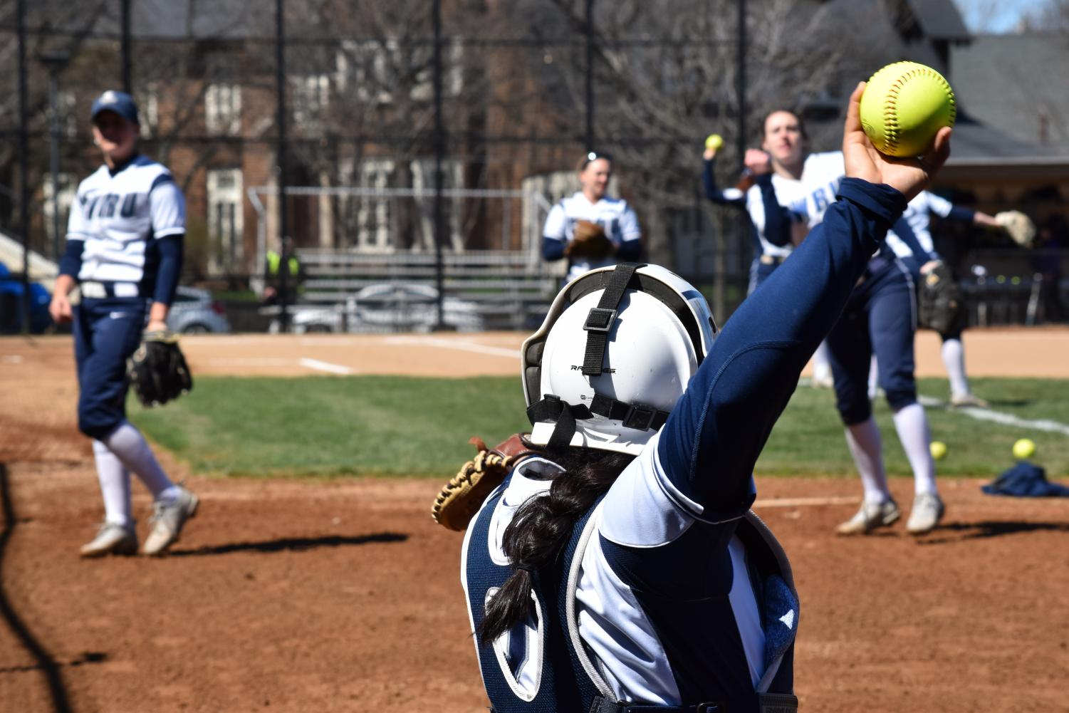 The softball team is currently ranked No. 22 in nation, marking the first time in school history the team has appearing in the Division III top 25 rankings. The team is on a roll, with a 7-1 record from blowout wins.