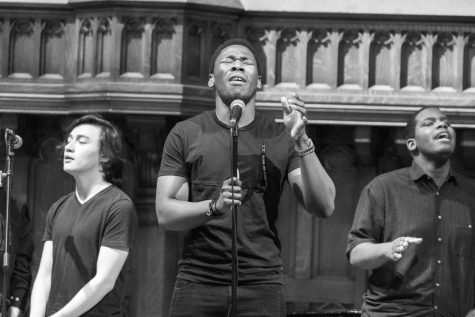 Gospel choir brings passion to Harkness Chapel