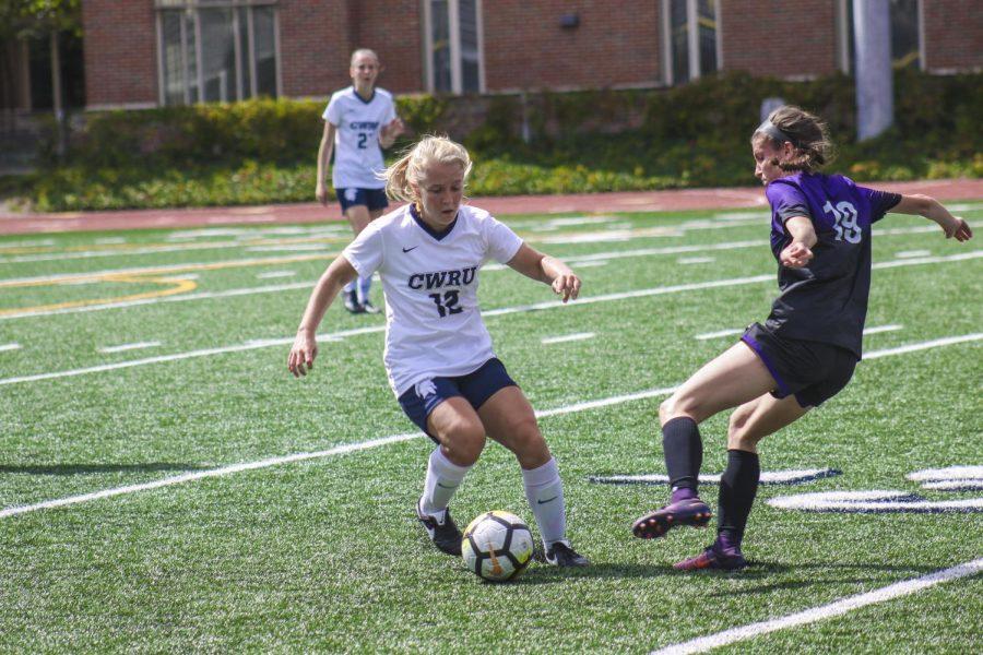 Women's soccer displays team versatility in victories
