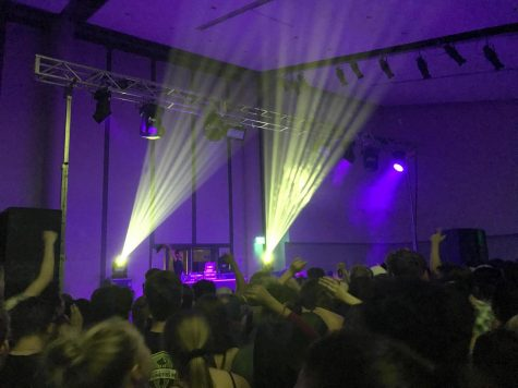 Amine rocks Tink Ballroom at the first UPB concert of the semester