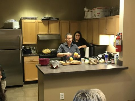 Parisian chef visits CWRU, teaches art of French cooking