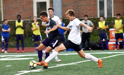 Men's Soccer keeps rolling towards undefeated season