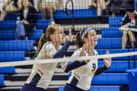 Volleyball season ends with fifth place conference finish