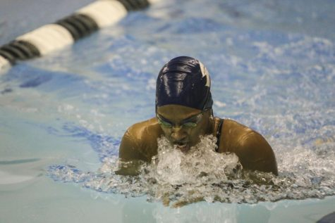 Swimming and diving prepares for postseason