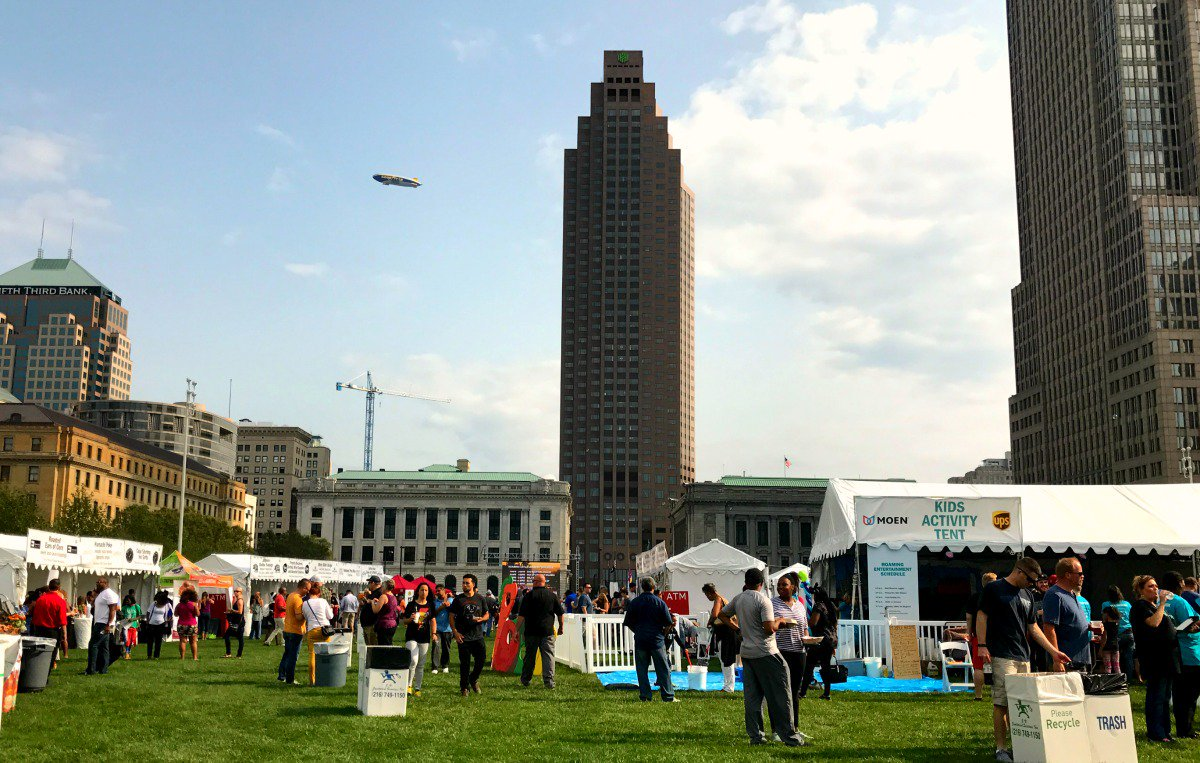 Courtesy of Cleveland Eats Twitter A scene from the 2017 edition of the Cleveland Eats Festival. This past month, festival organizers announced it would no longer continue.