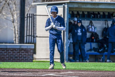 Baseball drops two to open conference play