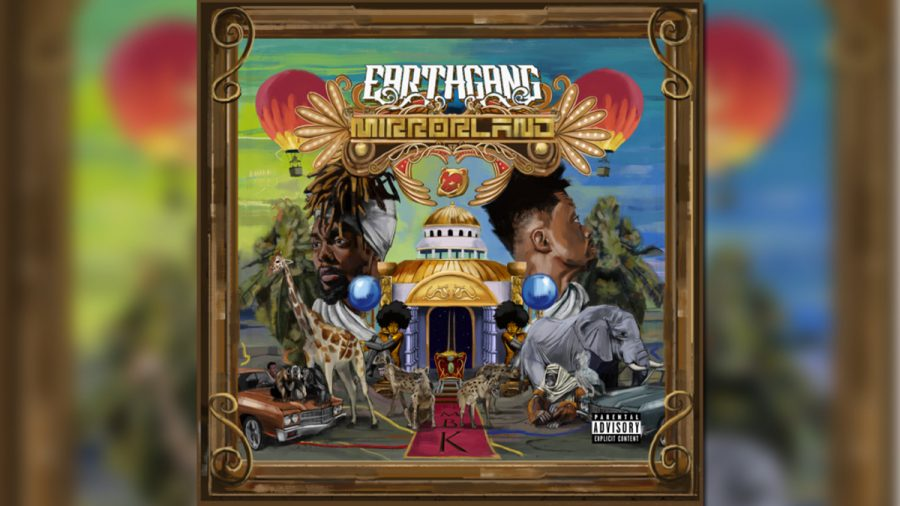 EARTHGANG%27s+debut+studio+album+%22Mirrorland%22