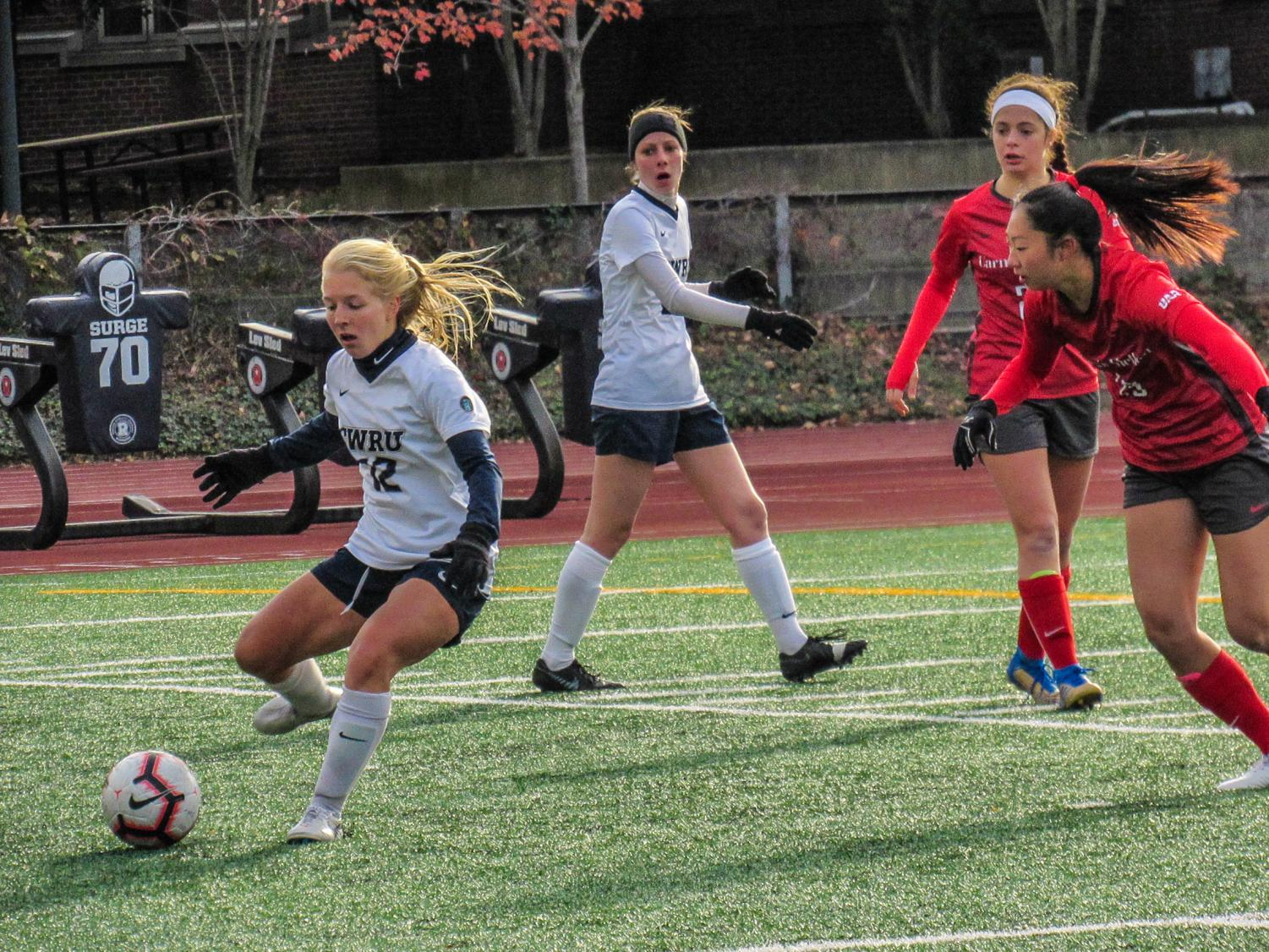 Despite a loss against Carnegie Mellon, CWRU women's soccer team qualifed for the second NCAA tournament in the program's history.