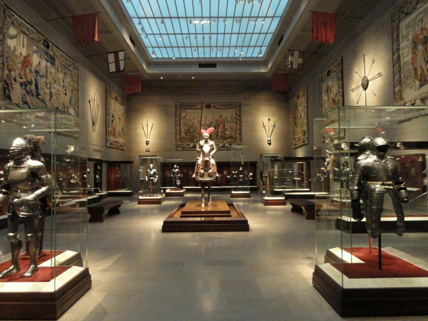 The Armor Court at the Cleveland Museum of Art.
