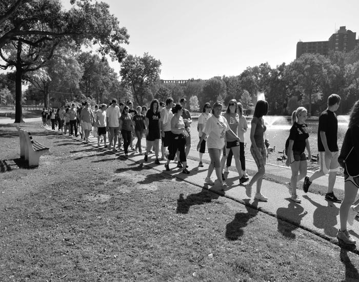 Beta Theta Pi hosts walk for diabetes