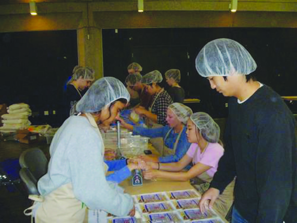 Students spend Saturday serving the community