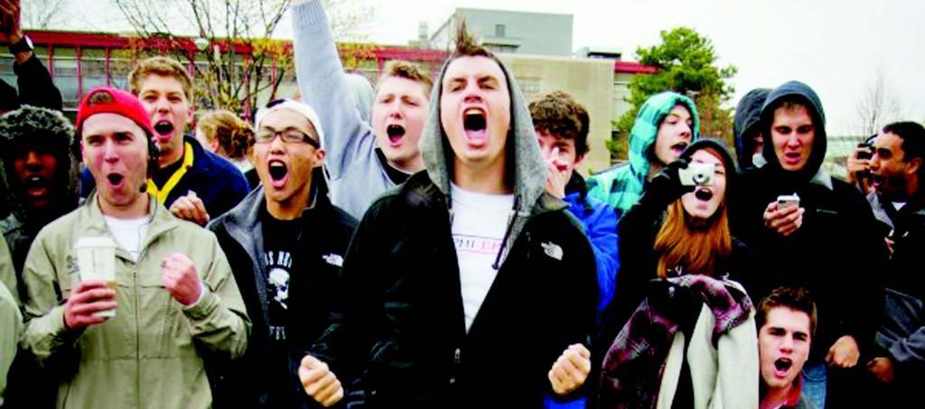 Sororities, fraternities battle it out in Greek Week 2012