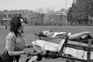 CWRU EMS holds mock drill