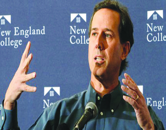Santorum: Still a (disgusting) joke