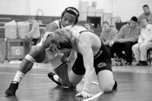 Grapplers drop match against rival John Carroll, fall to 0-2