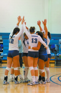 Volleyball returns home from their first NCAA Championship satisfied and yearning for more