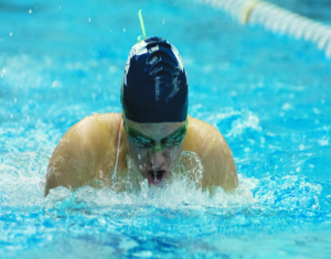 Swimming and diving sweep Allegheny