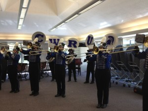Homecoming Pep: The Marching Spartans