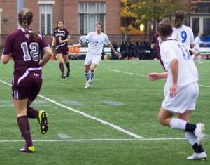 Women close out season with 2-1 comeback at Rochester