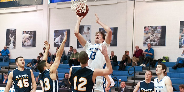 Chung's 22 points propel men in 58-53 win over Oberlin