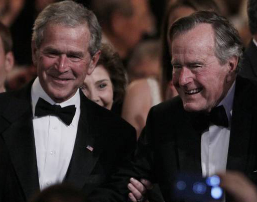Last week, a report stated that members of the Bush family had been