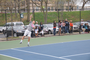 No. 17 men's tennis ace opening weekend