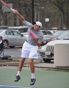 No. 12 men's tennis survives Spring Break gauntlet