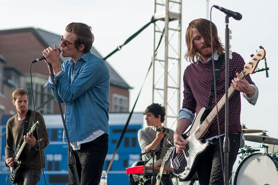 Springfest, headlined by pop-rock band The Maine, draws crowds to NRV field