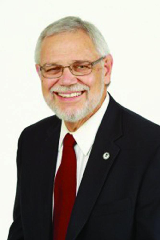 Retiring vice president for Student Affairs Glenn Nicholls