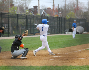 Senior shortstop Matt Keen has been one of the top offensive producers for the Spartans.  Keen is batting .312 and has 16 RBIs this season, second on the squad.