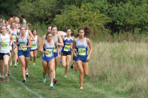 Both the men's and women's cross country teams (pictured above), will compete in the 13th Annual Bill Sudeck Classic.