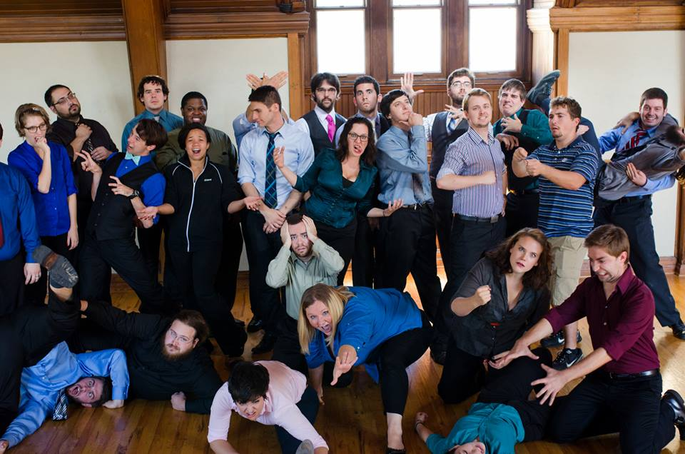 Throughout the performance, IMPROVment members and alumni collaborated in creating a unique and hilarious experience for all in Harkness Chapel on Saturday, Sept. 28.