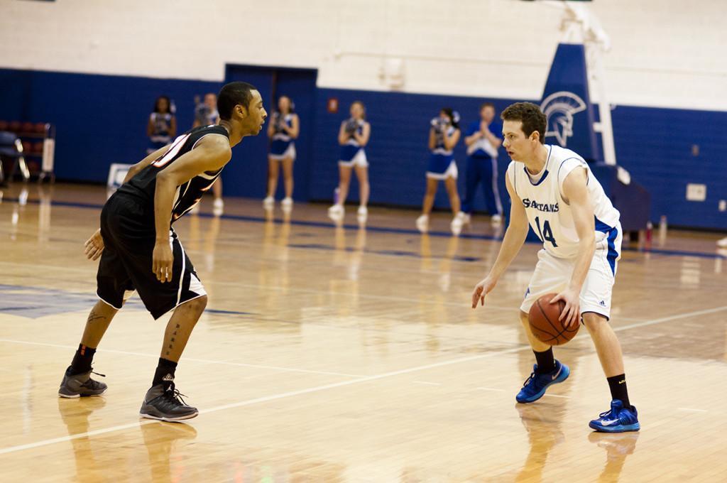 Spartan basketball takes their shot