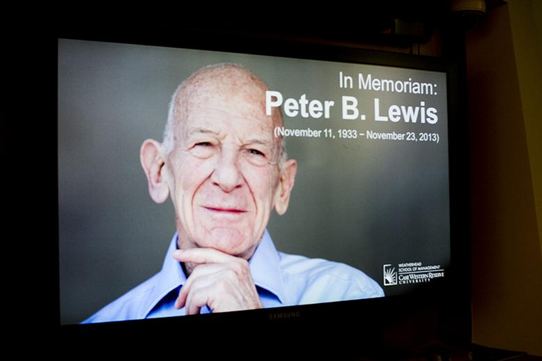 Campus+memorial+service+honors+Peter+B.+Lewis